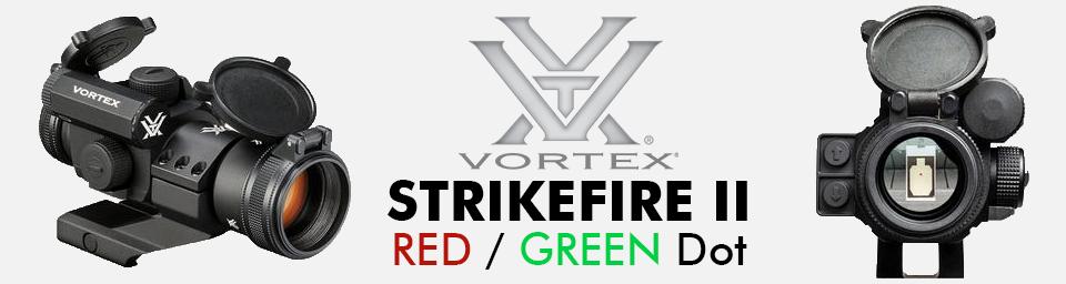 Vortex Strikefire II Red/Green Dot
